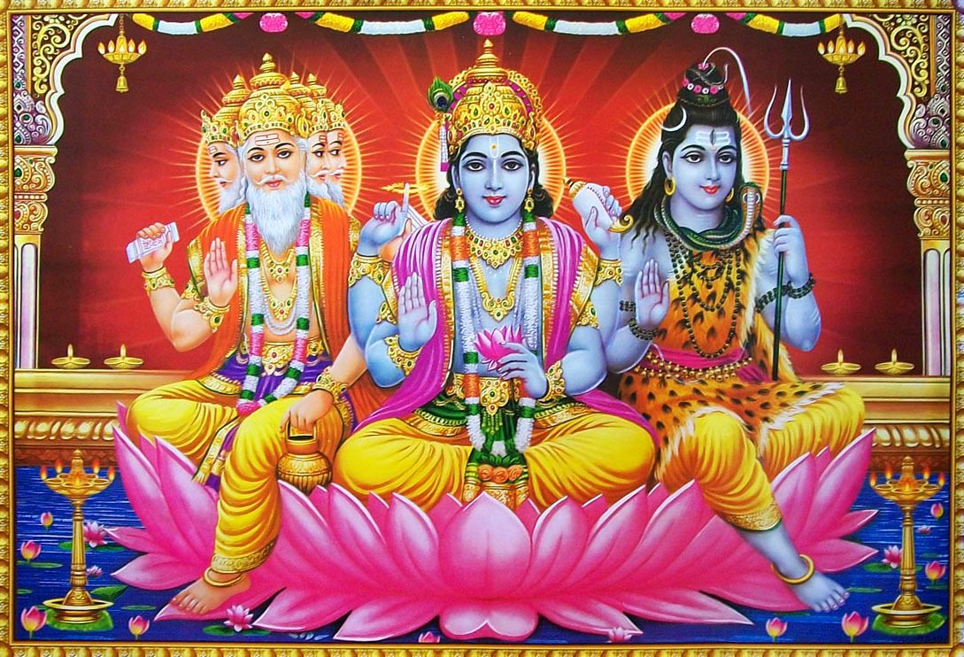 Brahma-Vishnu- Shiva
